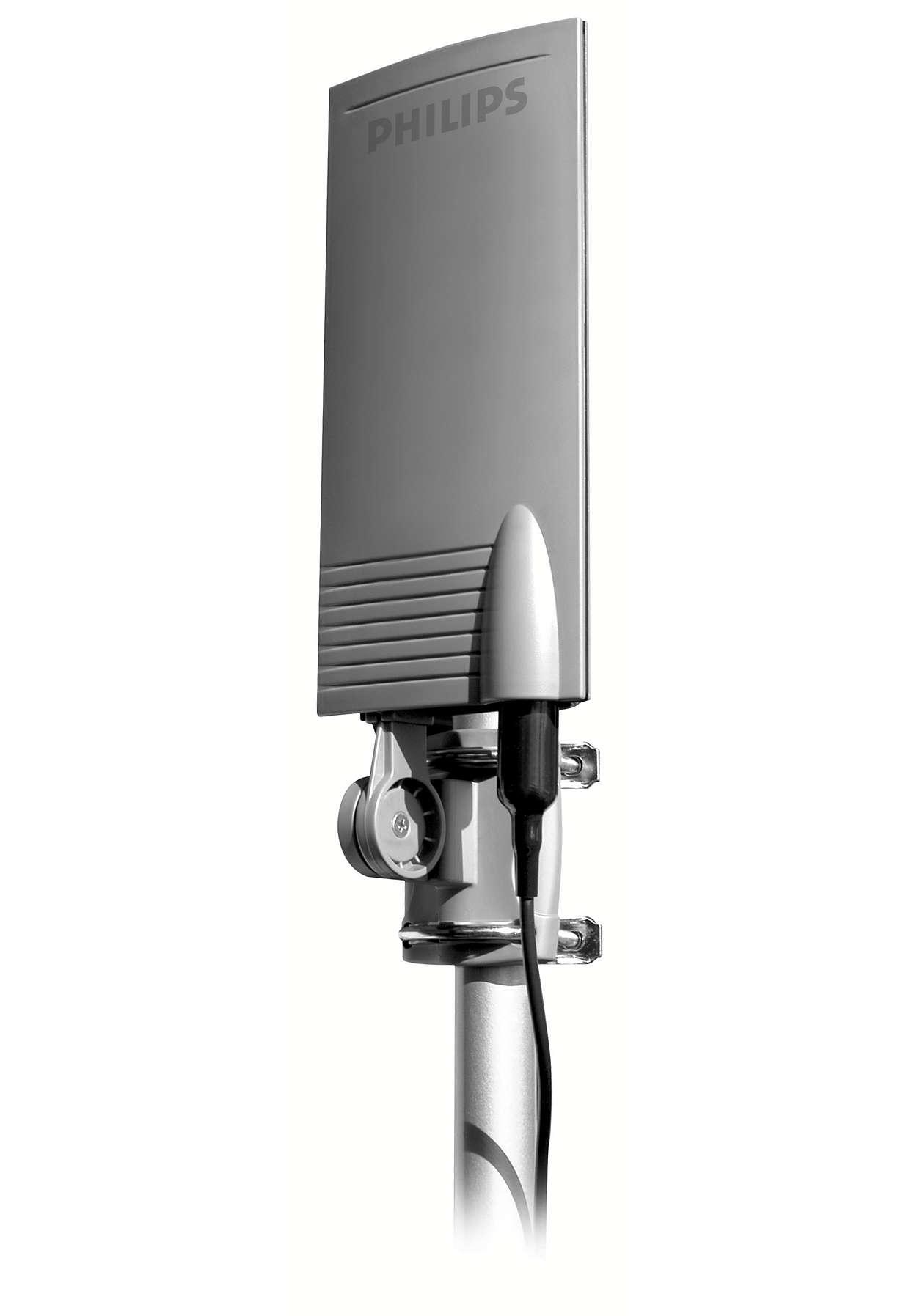 Bu 18 dB güçlendirilmiş antenle