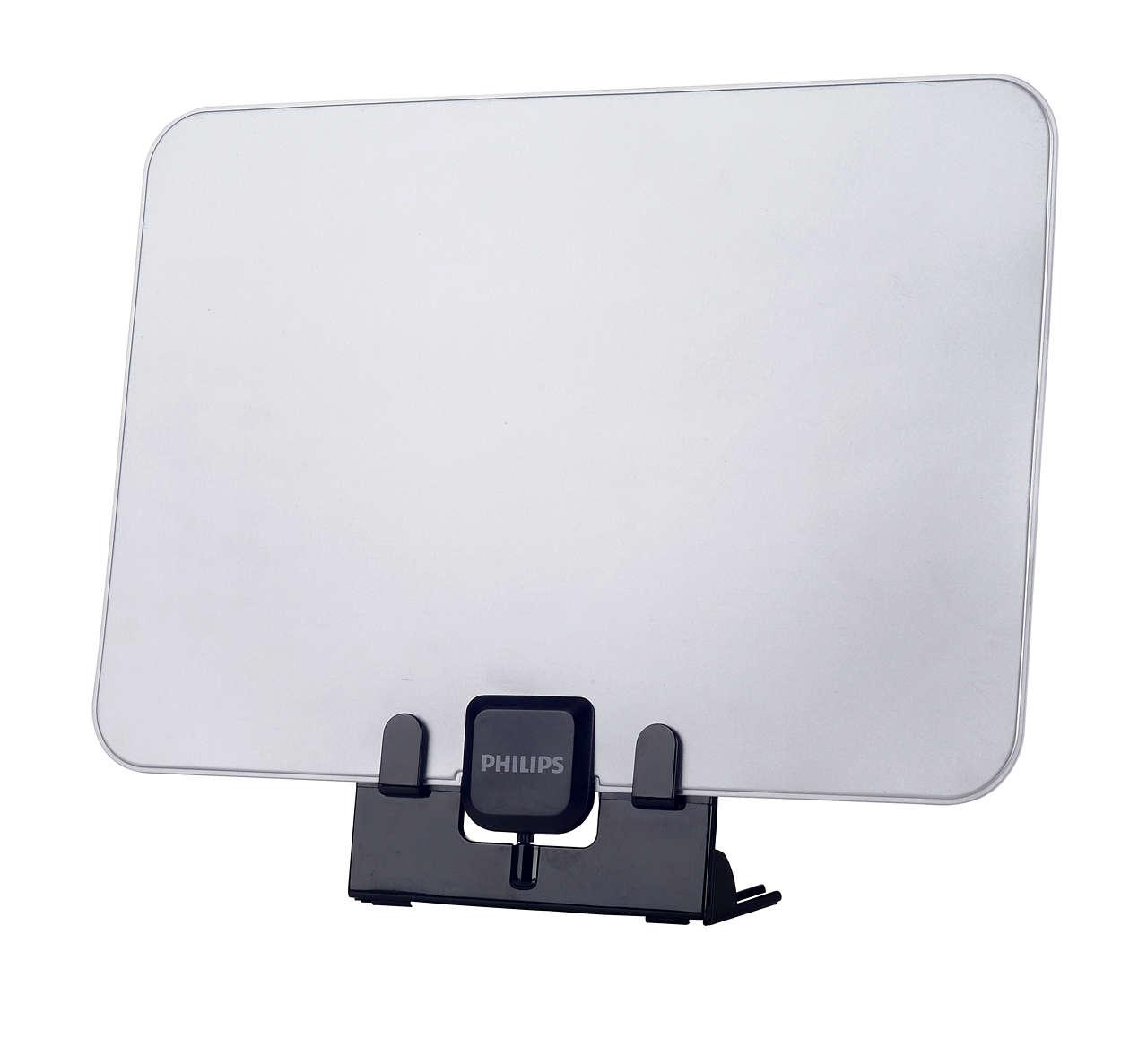 Papírvékony beltéri antenna