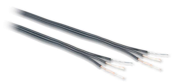 Wire an antenna rotator