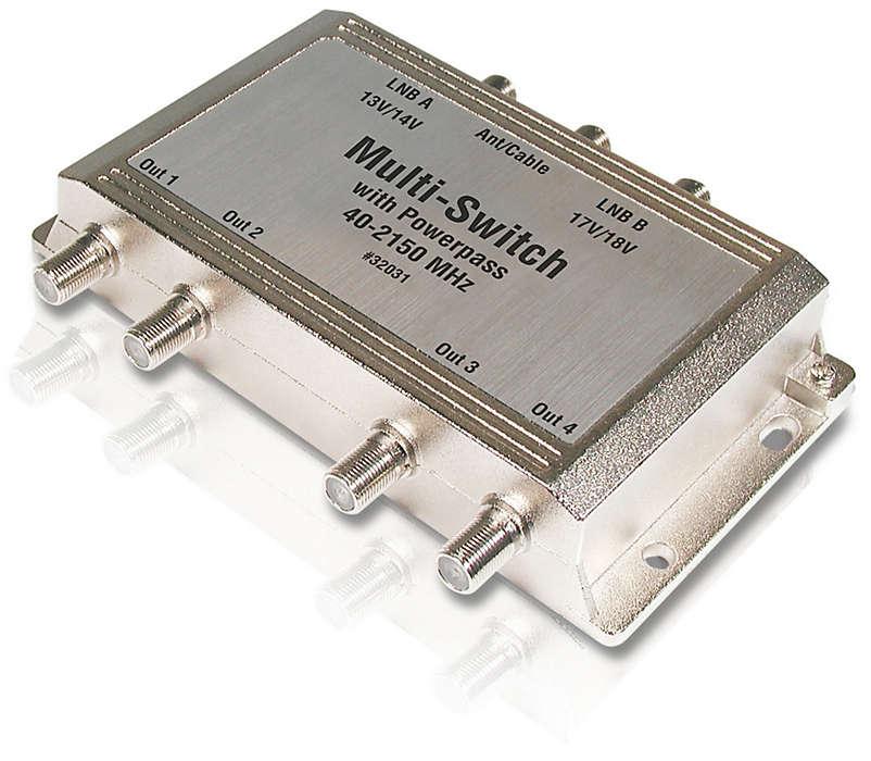 Augmentez la capacité de votre système satellite