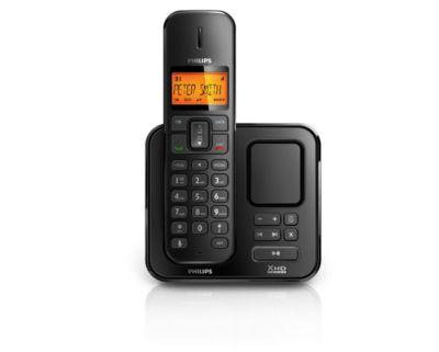 perfect sound telefone sem fio se1701b br philips rh philips com br