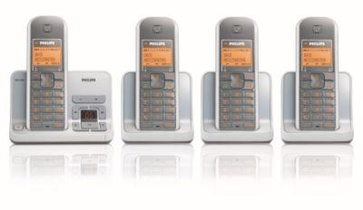 cordless phone answer machine se4354s 05 philips rh philips ie