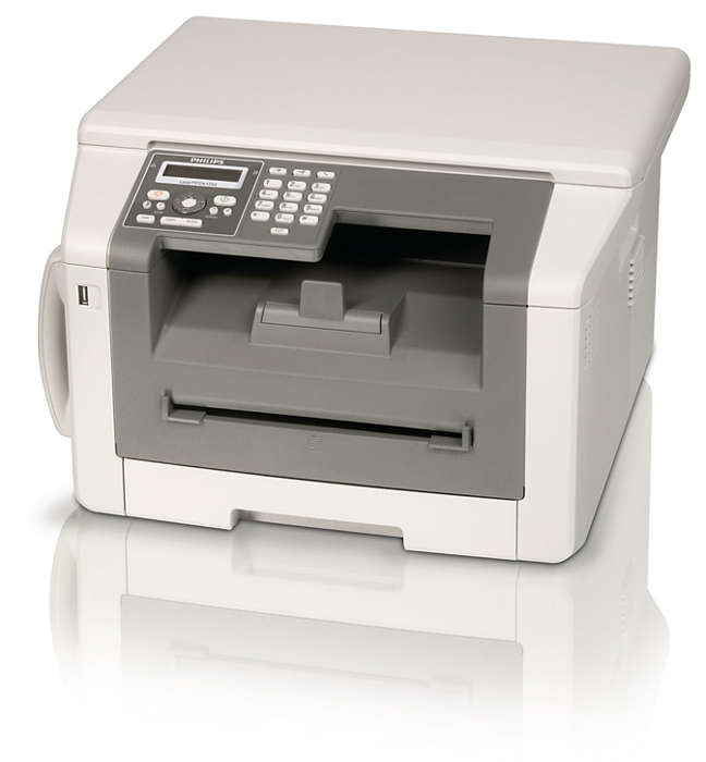 Fax, phone, copy and print with duplex laser power