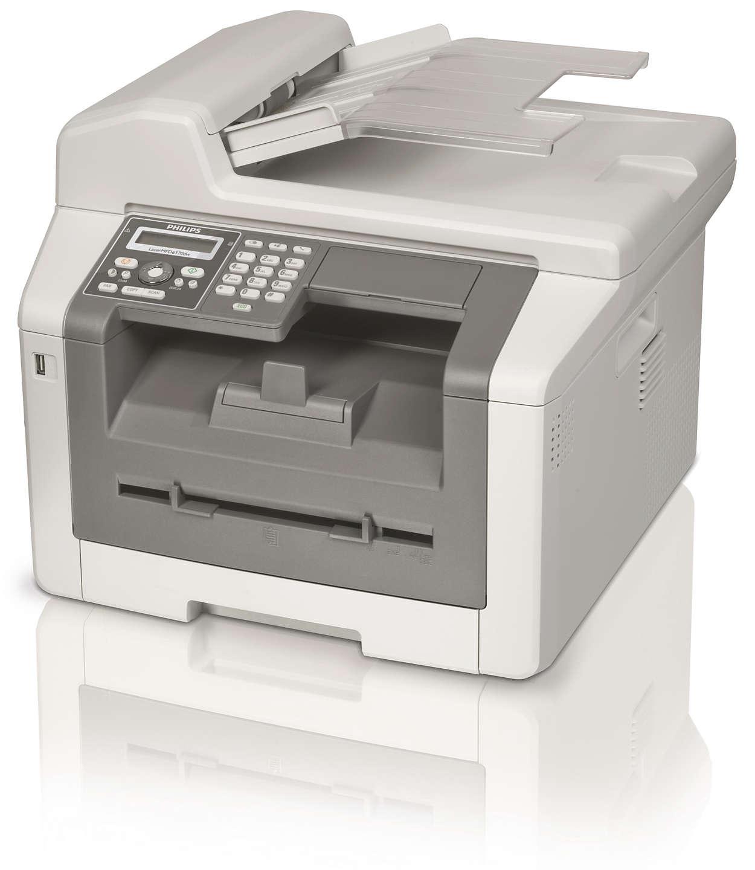 Факс, WLAN, копир и принтер с двусторонней лазерной печатью