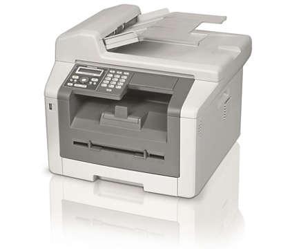 Fax, WLAN, copia e stampa con la potenza laser duplex