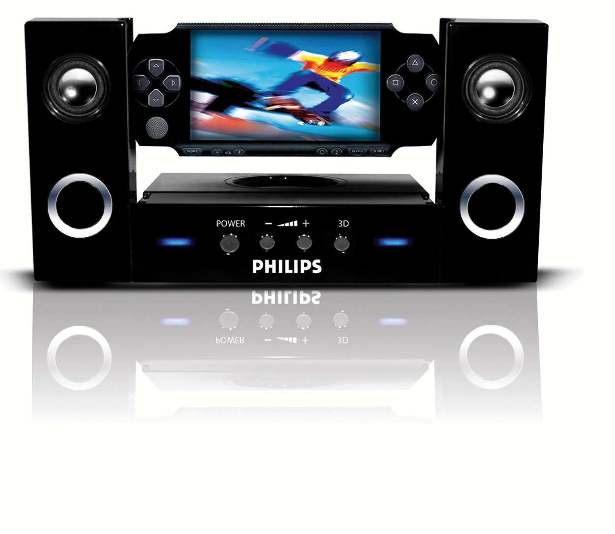 Enjoy extreme 3-D sound