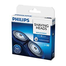 SH30/20 Click & Style Shaving heads