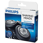 Shaver series 5000 Shaving heads