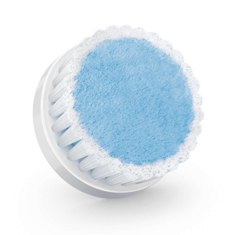 Effektiv rensning af ansigtet