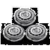 Shaver series 9000 Rakhuvuden