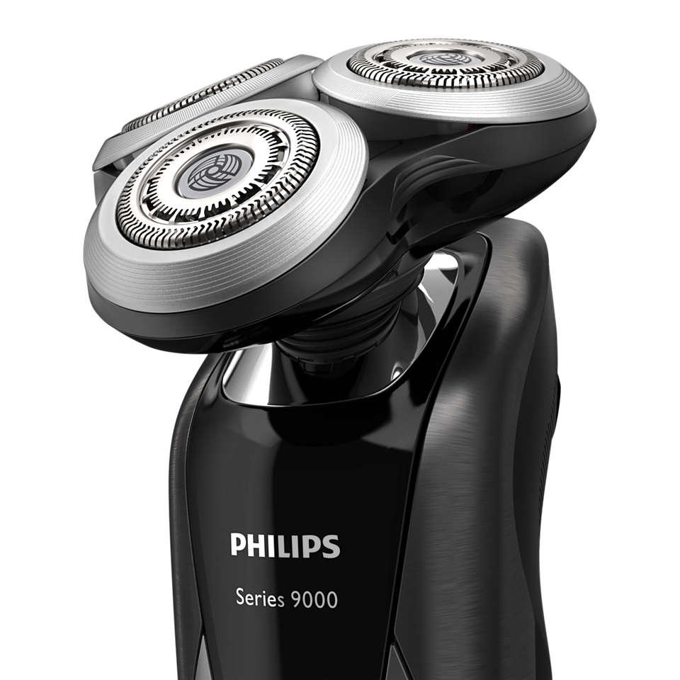 Reponha o estado novo da sua máquina de barbear