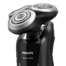 SH90/70 Shaver series 9000 Rakhuvuden