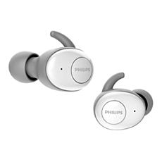 SHB2515WT/10  Skutečně bezdrátová sluchátka do uší