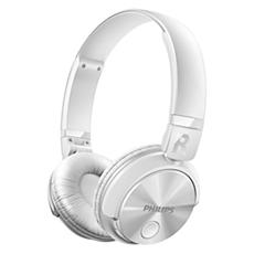 SHB3060WT/00 -    Sluchátka Bluetooth Stereo