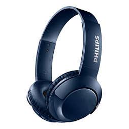 Wireless On Ear Headphone with mic