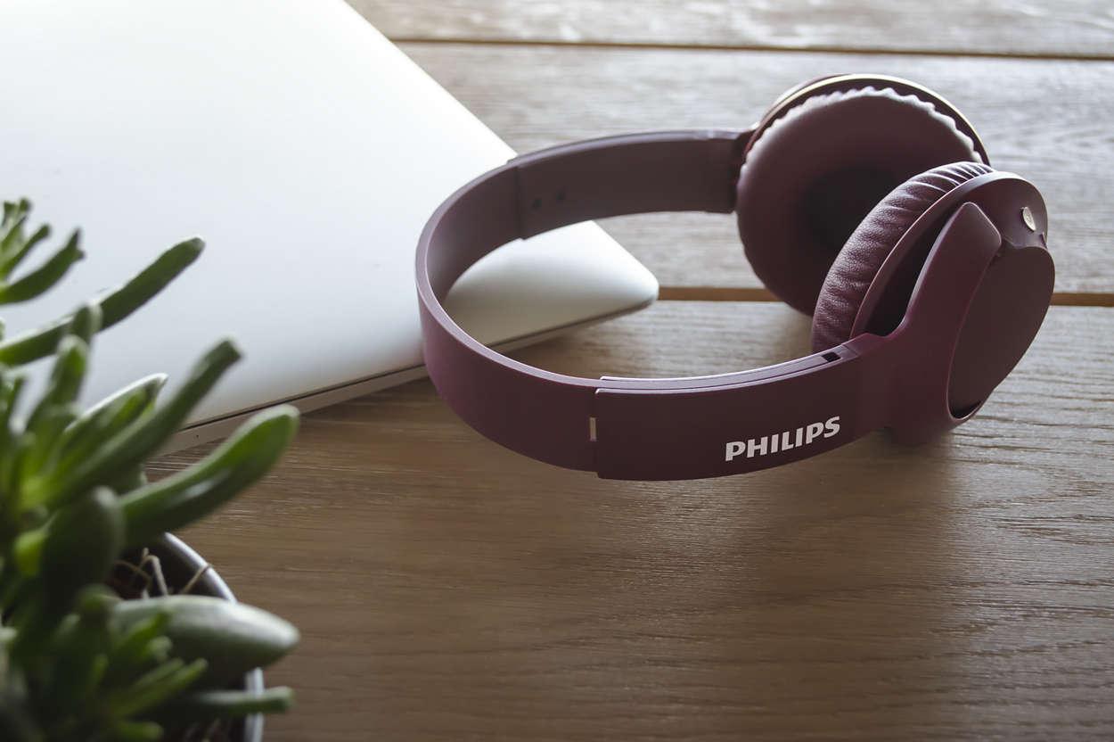 Philips SHB3075RD/00 bezvadu austiņas