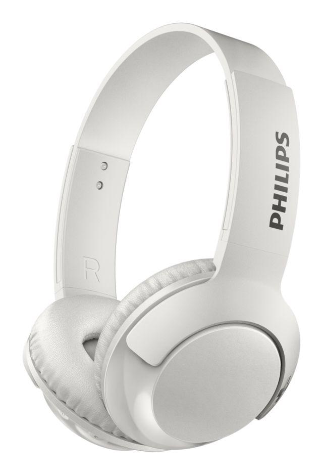 On-Ear Kopfhörer mit Mikrofon und Bluetooth (SHB3075WT/00)