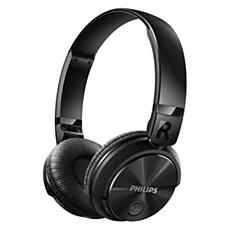 SHB3080BK/00 -    Wireless Bluetooth® headphones