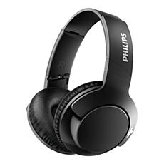 SHB3175BK/00 -   BASS+ Bluetooth sluchátka