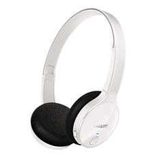 SHB4000WT/10  藍牙立體聲耳筒