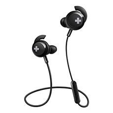 SHB4305BK/00 BASS+ Безжични Bluetooth® слушалки