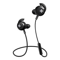 SHB4305BK/00 BASS+ Draadloze Bluetooth®-hoofdtelefoon