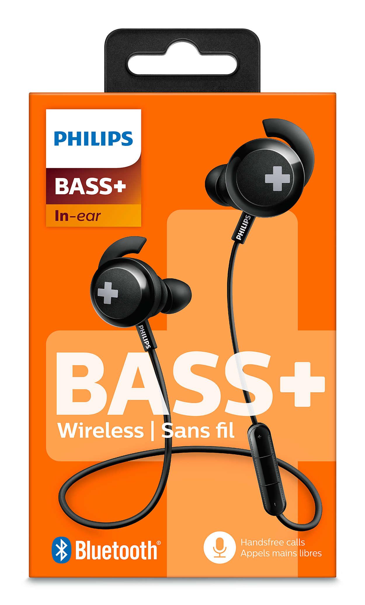 Bass Wireless Bluetooth Headphones Shb4305bk 27 Philips