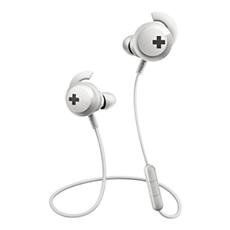 SHB4305WT/00 BASS+ Casque Bluetooth® sans fil