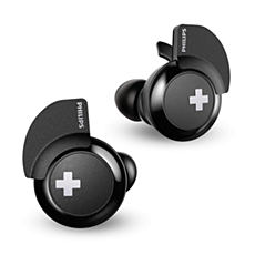 SHB4385BK/00 BASS+ Casque Bluetooth® sans fil
