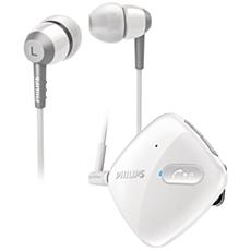 SHB5000WT/00  Headset stereo Bluetooth
