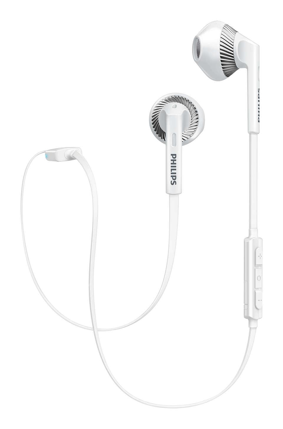 Auriculares Bluetooth Philips MyJam SHB5250 Negro