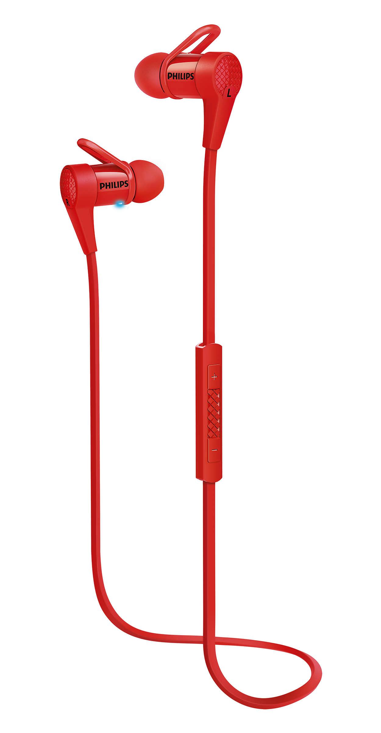 無線入耳式耳機,設有 NFC 配對功能