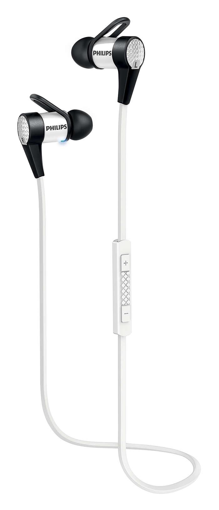 TRÅDLÖS in-ear, enkel NFC-parkoppling