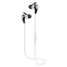 SHB5800WT/00 -    In-ear-hörlurar med Bluetooth och NFC
