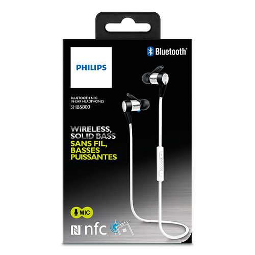 Bluetooth-oordopjes met NFC
