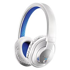 SHB7000WT/10  Casque stéréo avec micro Bluetooth®