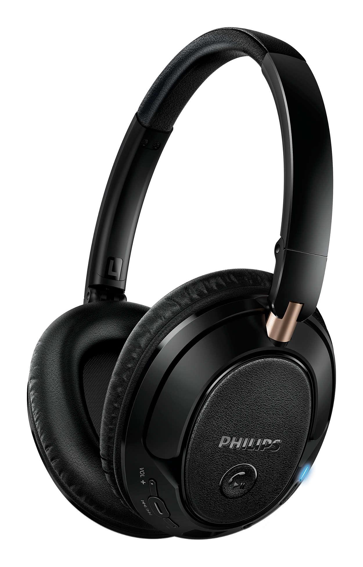 a6af6fee272 Wireless Bluetooth® headphones SHB7250/00 | Philips
