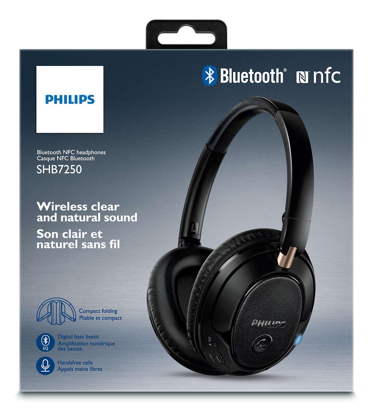 casque bluetooth philips shb7350