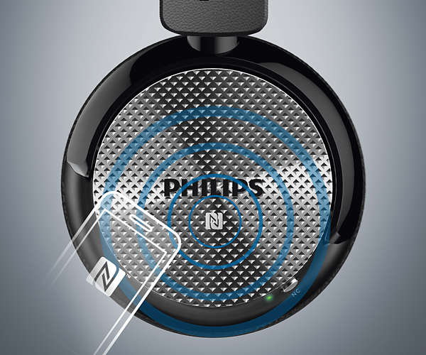 Бездротові навушники з технологією шумопоглинання SHB8850NC 00  056693f575b90