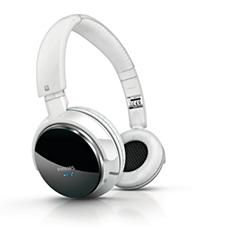 SHB9001WT/00  Bluetooth-stereohoofdtelefoon
