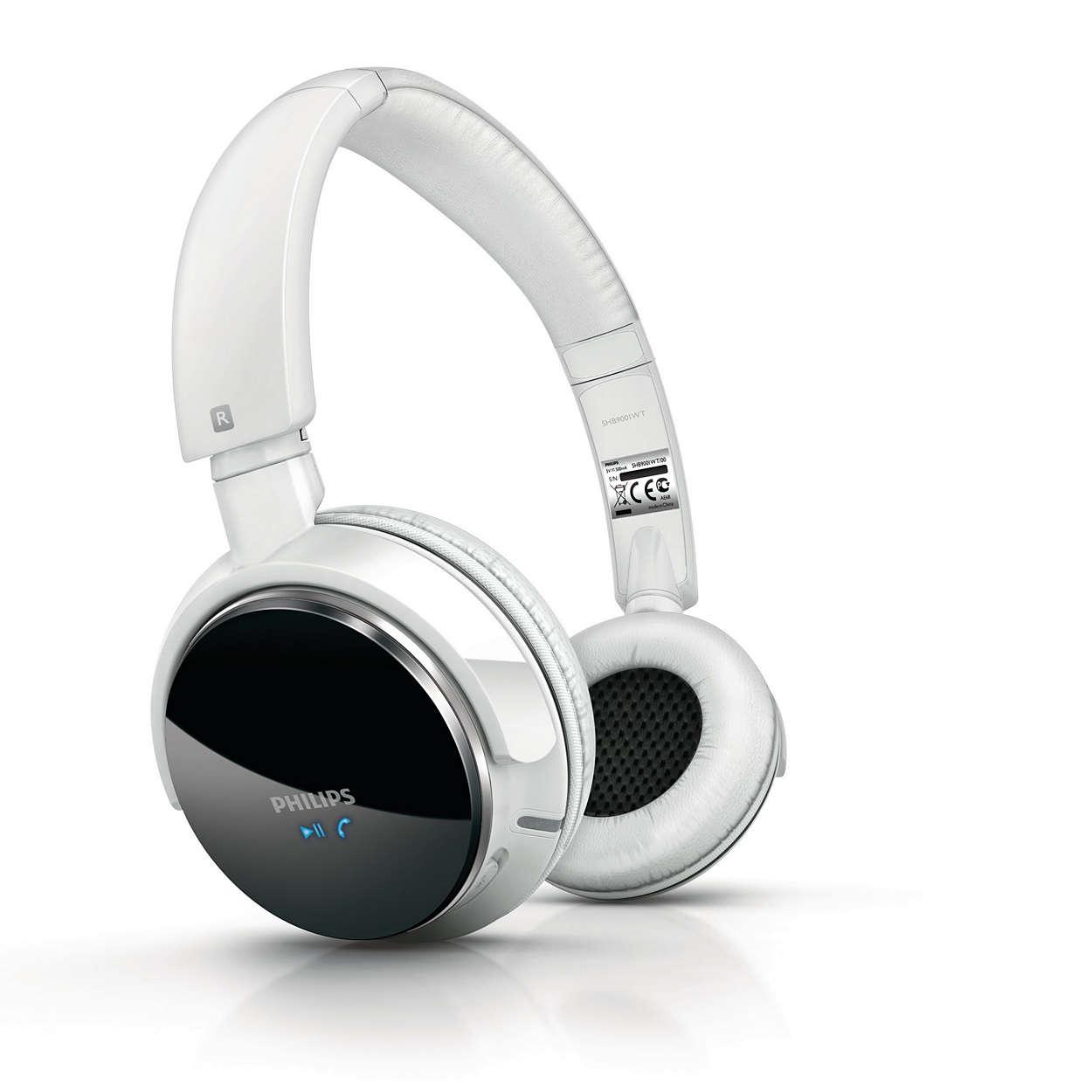 Altíssima qualidade de áudio sem fio