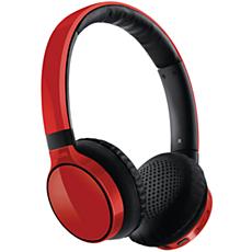 SHB9100RD/00 -    Auricular estéreo Bluetooth
