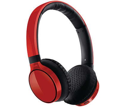 Sonido puro, uso inalámbrico o con cables