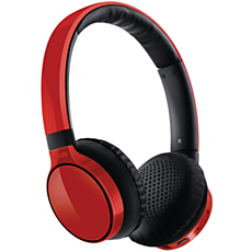 SHB9100RD/00  Casque stéréo avec micro Bluetooth®
