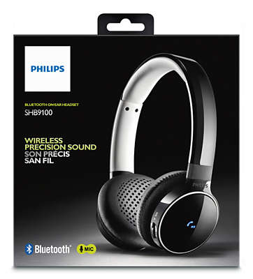 Wired Or Wireless Headset | Bluetooth Stereo Headset Shb9100 00 Philips