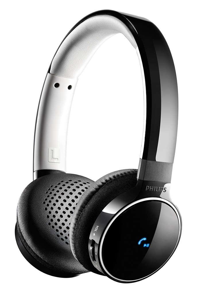 Sonido de excelente calidad con conexión inalámbrica o con cable