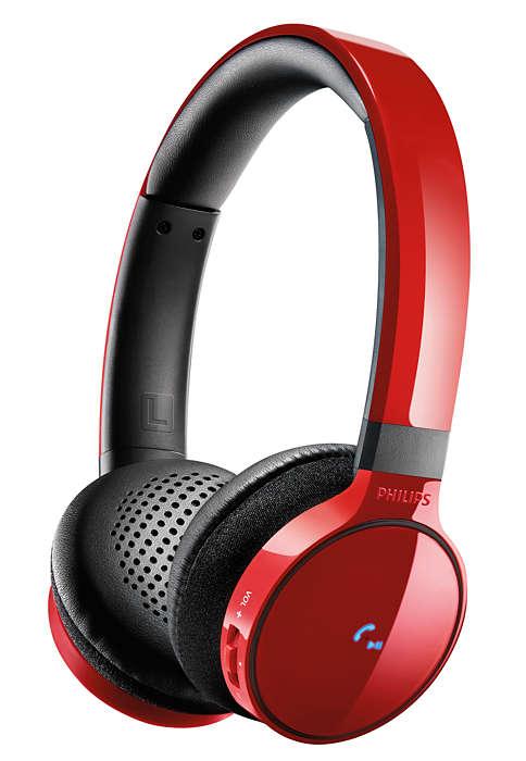 Qualità audio eccellente, via cavo o wireless