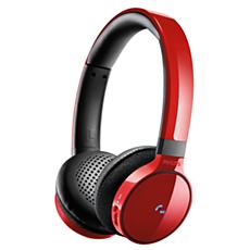 SHB9150RD/00  Fones de ouvido sem fio Bluetooth®