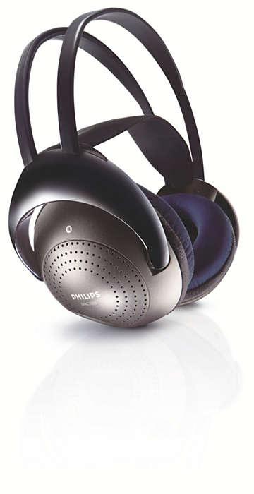 Słuchanie bezprzewodowe dzięki sygnałowi podczerwieni