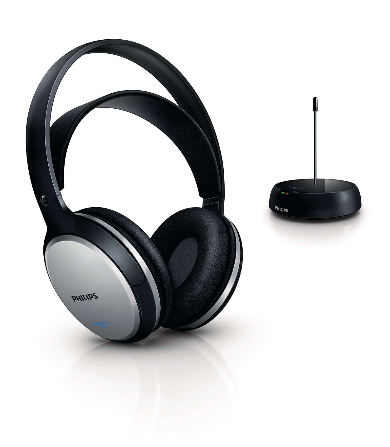 Wireless Hifi Headphone Shc5100 10 Philips Headseet Kw